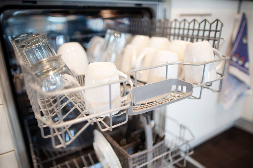 Picture of a dishwasher