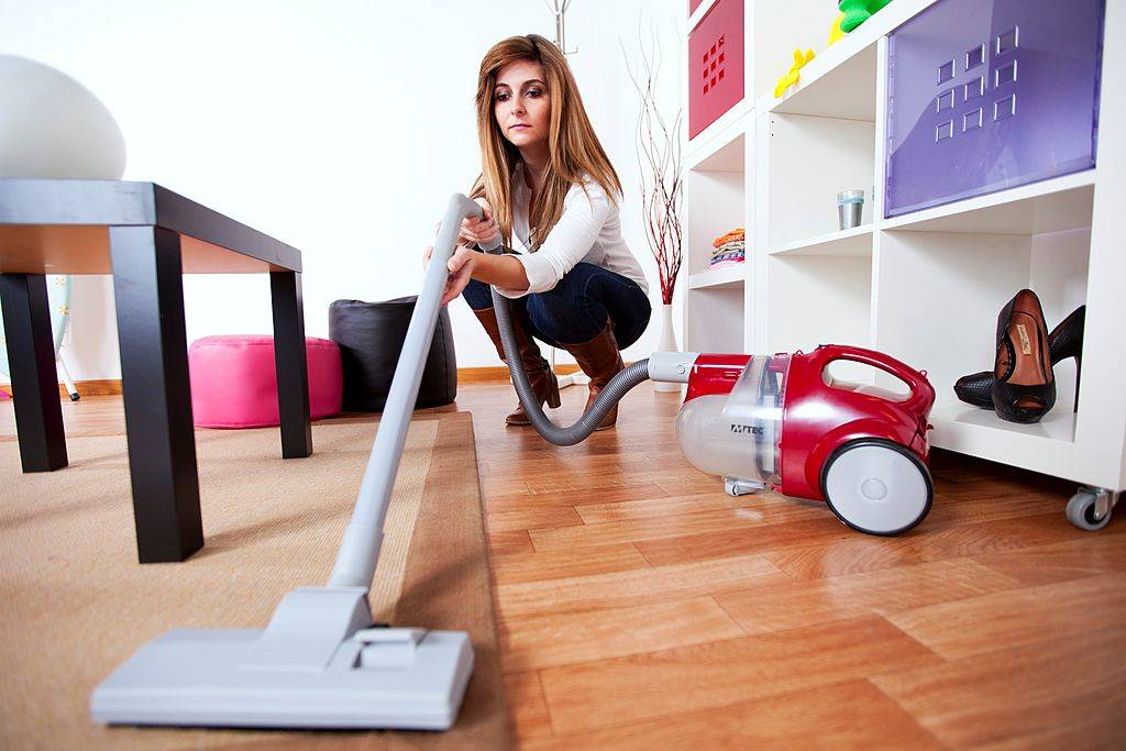 Picture of vacuuming