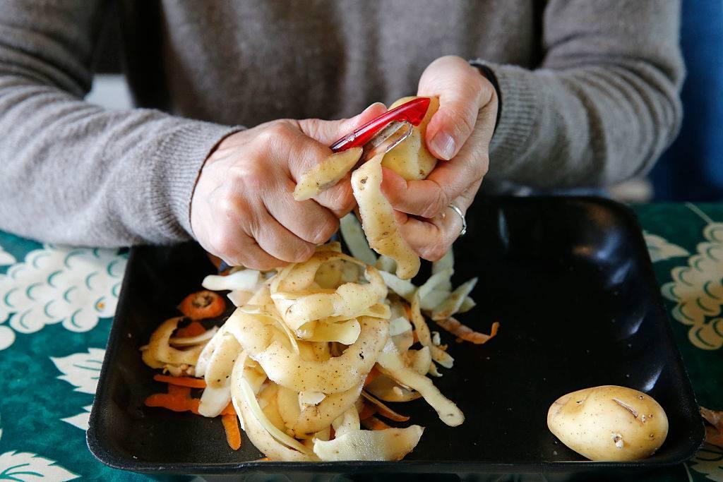 vegetable-peelings