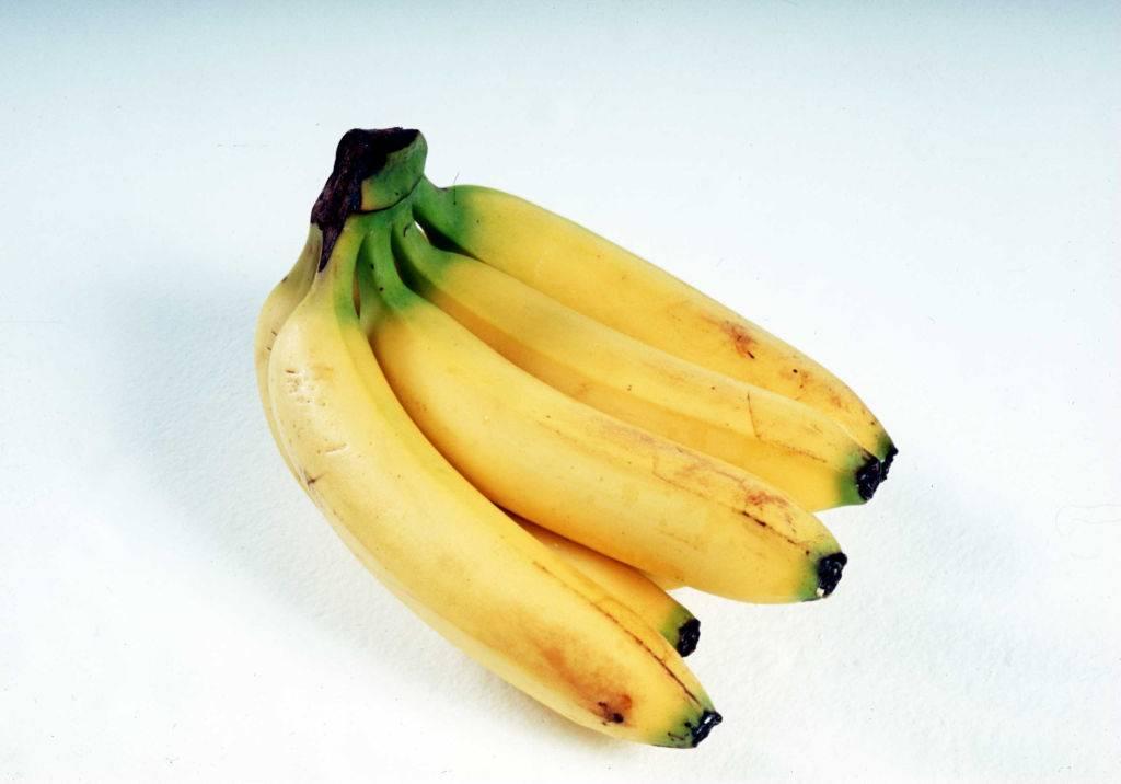 a bunch of ripe yellow bananas