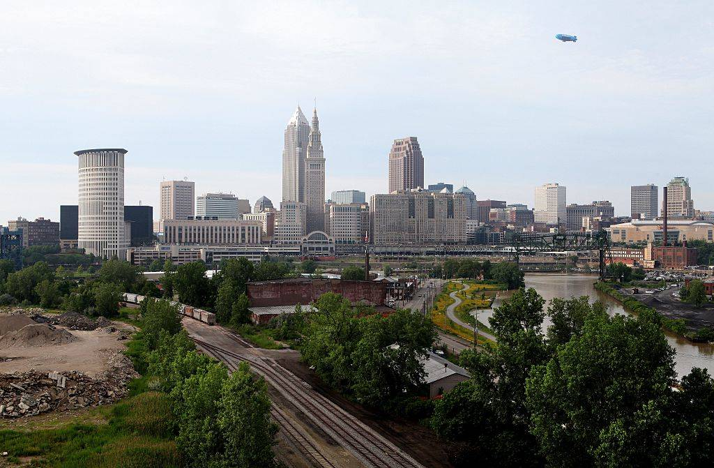 Cleveland skyline during the day